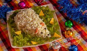 Миниатюра к статье Салат-закуска на Новый год Крысы