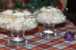 Салат с говядиной, ананасами и сыром: рецепт с фото
