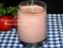 Смузи из помидоров: рецепт с фото