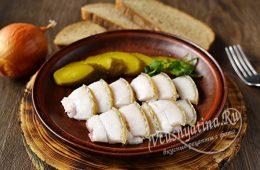 Миниатюра к статье Самое вкусное соленое сало в банке в рассоле