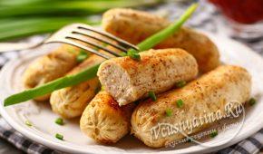 Миниатюра к статье Домашние сосиски из куриного фарша