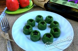 Соус из зеленого лука на зиму