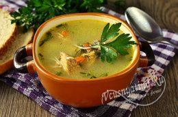 Суп из цесарки