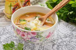 Суп из вешенок с картошкой и вермишелью