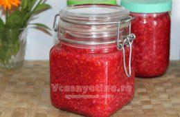 Сырое варенье из красной смородины: рецепт с фото по шагам