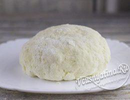 чебуречное тесто