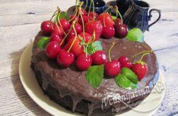 Миниатюра к статье Шоколадный торт от Энди Шеф