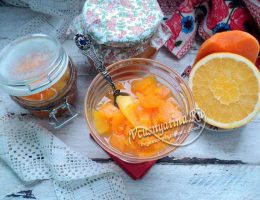 Тыквенное варенье с апельсином и лимоном