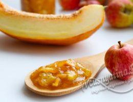 Варенье из дыни и яблок