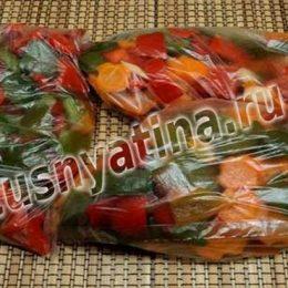 заморозка овощей в домашних условиях на зиму