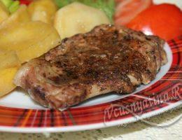 мясо с картофелем в фольге в духовке